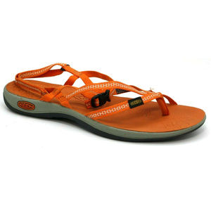 Keen Womens La Paz Orange Sandals Size 11
